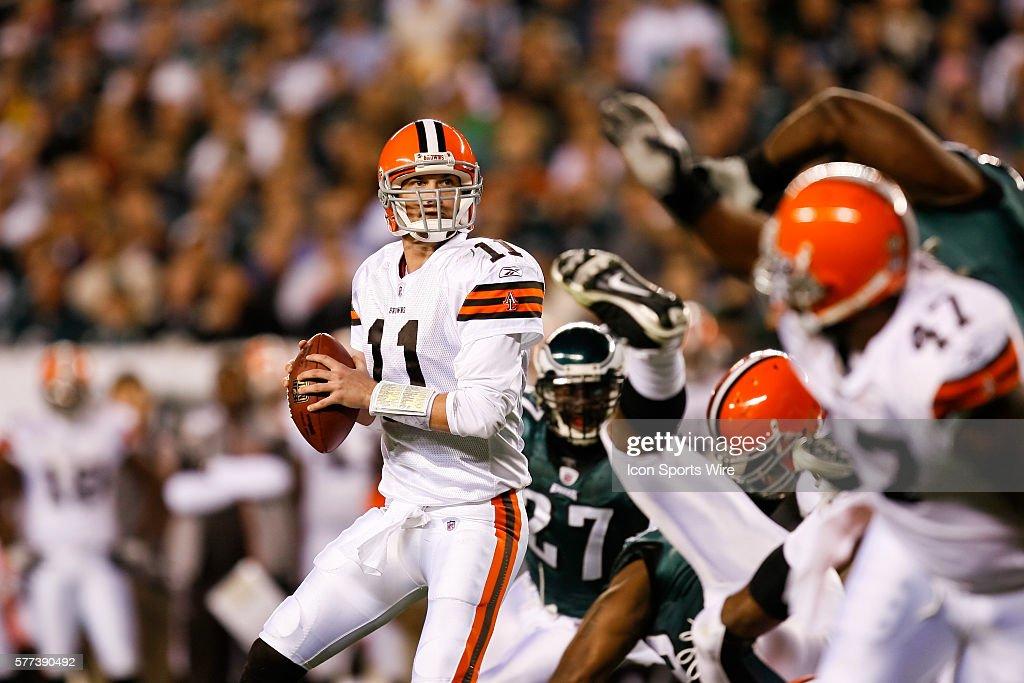Football - NFL - Browns vs. Eagles : News Photo