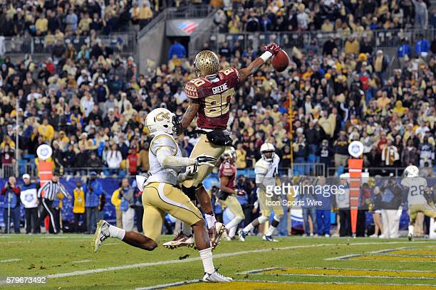 06 Dec 2014 Florida State Seminoles wide receiver Rashad Greene can't make the onehanded catch in the fourth quarter of the ACC Championship Game...