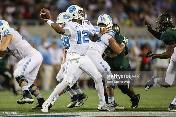 North Carolina Tar Heels quarterback Marquise Williams during the Russell Athletic Bowl game between the North Carolina Tar Heels and the Baylor...