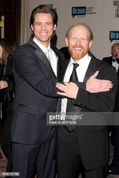 Dec 4 2005 Jim Carrey and Ron Howard at the Museum of The Moving Image Salute To Ron Howard credit Frank Albertson