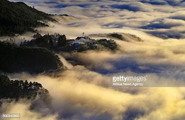 JIUJIANG Dec 6 2015 Photo taken on Dec 6 2015 shows the scenery of Lushan Mountain after a snowfall in Jiujiang east China's Jiangxi Province