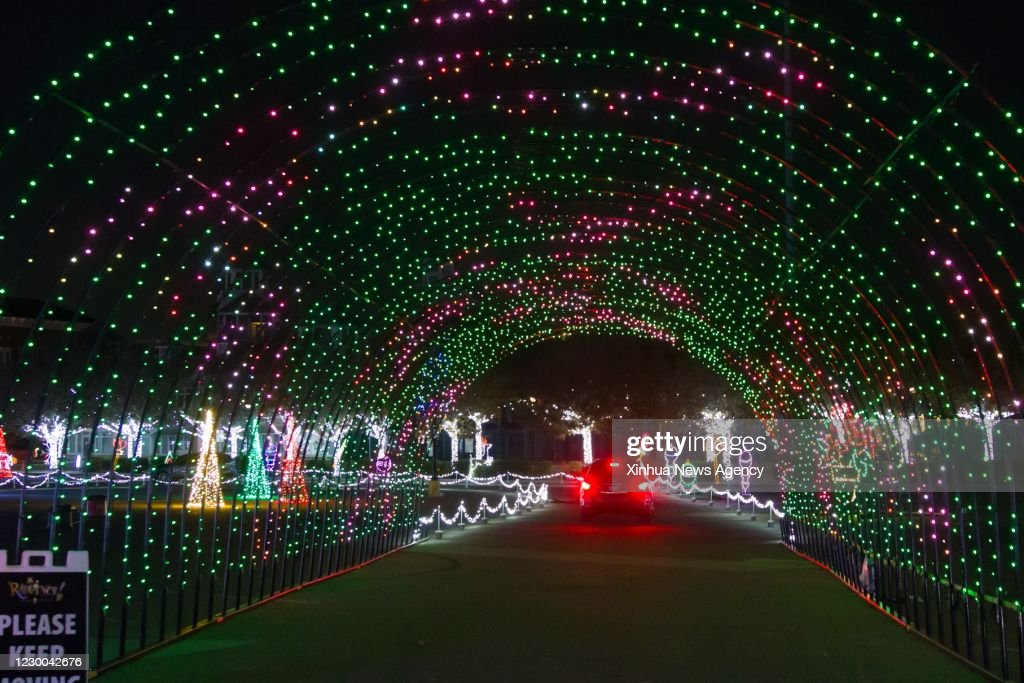 U.S.-TEXAS-FRISCO-LIGHT SHOW : ニュース写真