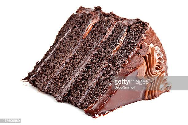 Decadent Chocolate Fudge Layer Cake