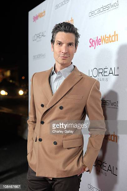 Decades' Cameron Silver arrives to 'A Night Of Red Carpet Style' hosted by People StyleWatch at Decades on January 27, 2011 in Los Angeles,...