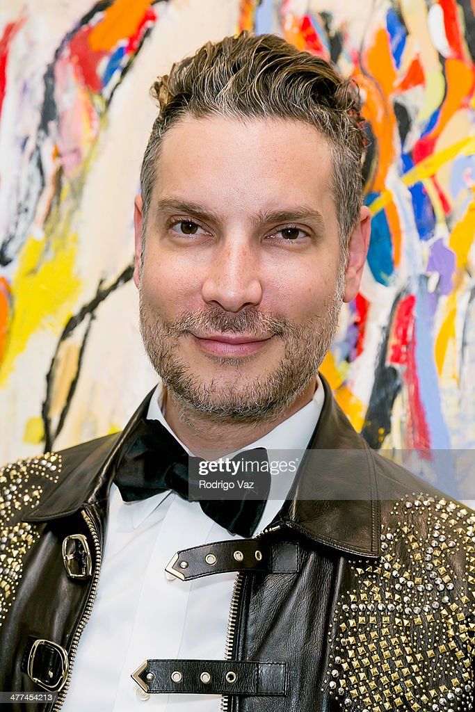 Decades founder Cameron Silver attends Alexander Yulish 'An Unquiet Mind' VIP Opening Reception at KM Fine Arts LA Studio on March 8, 2014 in Los Angeles, California.