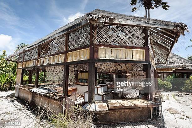 """Verfallenen verlassenen Tourist Resort-Bar """"III"""