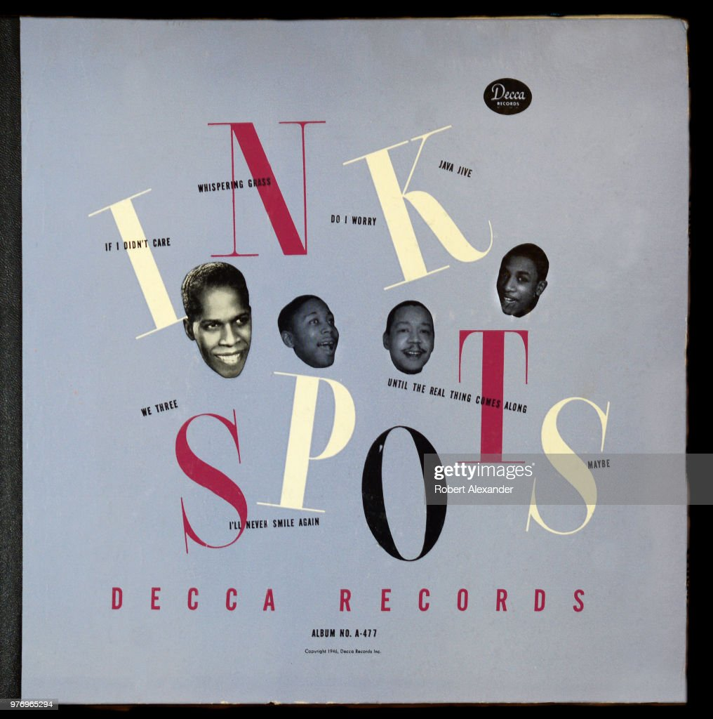 A Decca label 78 rpm record album by The Ink Spots released