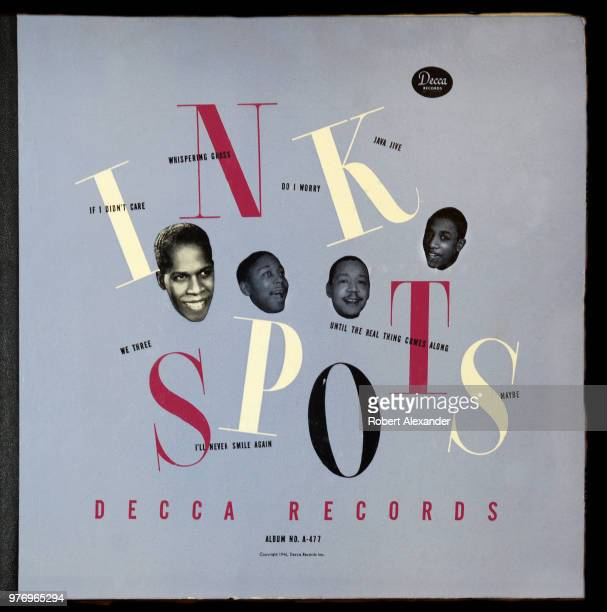 Decca label 78 rpm record album by The Ink Spots released in 1946 for sale in a Santa Fe New Mexico antique shop