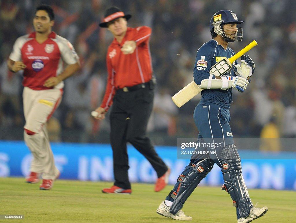 Deccan Chargers team captain and batsman : News Photo