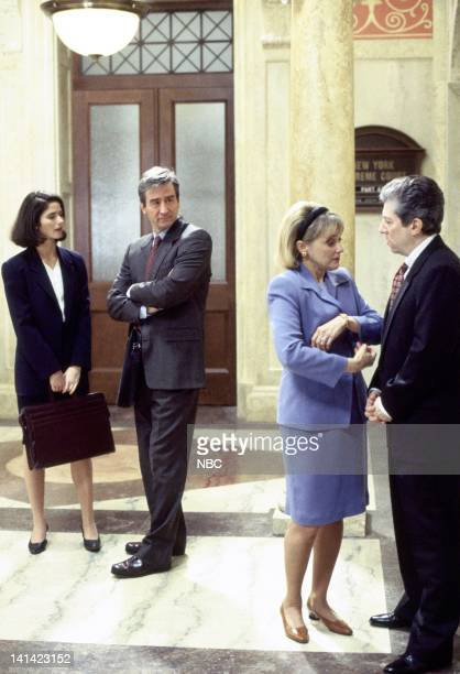 LAW ORDER Deceit Episode 17 Aired Pictured Jill Hennessy as ADA Claire Kincaid Sam Waterston as Executive ADA Jack McCoy Mary Beth Hurt as Sela Dixon...