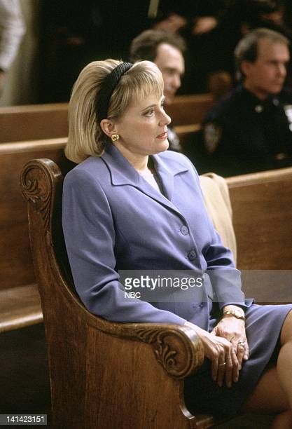 LAW ORDER Deceit Episode 17 Aired Pictured Mary Beth Hurt as Sela Dixon Photo by Robert Gilberg/NBCU Photo Bank