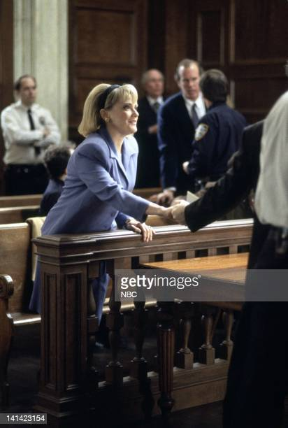 """Deceit"""" Episode 17 -- Aired -- Pictured: Mary Beth Hurt as Sela Dixon -- Photo by: Robert Gilberg/NBCU Photo Bank"""