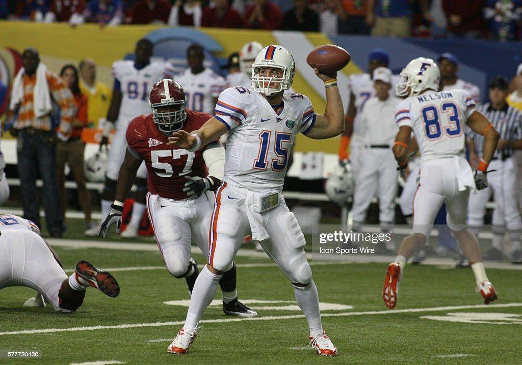 December 05 2009 Sec Championship Florida Quarterback Tim