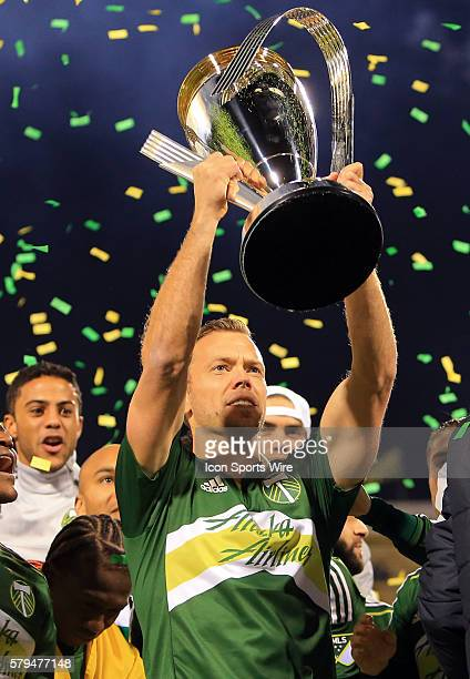 Jack Jewsbury after the MLS Cup final at Mapfre Stadium in Columbus Ohio Portland defeated Columbus 21