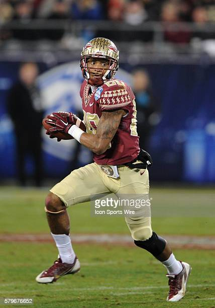 Florida State Seminoles wide receiver Rashad Greene during the ACC Championship game at Bank of America in CharlotteNC