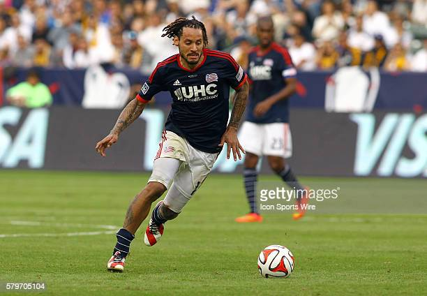New England Revolution midfielder Jermaine Jones during the 2014 MLS Cup at StubHub Center in Carson CA Los Angeles Galaxy beat the New England...