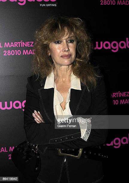 December 11 2007 Madrid Spain Opening of the Wagaboo restaurant In the image Victoria Vera actress