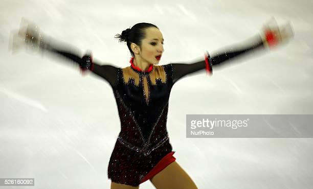 Polina Tsurskaya during the ISU Gran Prix of figure skating final ice ladies junior free program in Barcelona on december 12 2015 Photo Joan...
