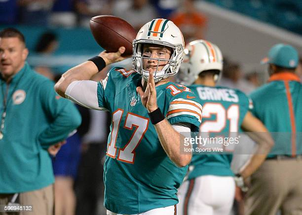 December 14 2015 Xxxxxxxxx prior to a game between the Miami Dolphins and the New York Giants at Sun Life Stadium in Miami gardens FL Photo by...