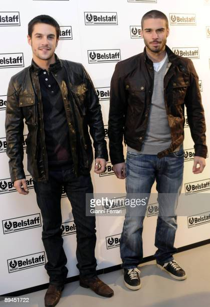 December 15 2008 Madrid Spain Opening of the store Belstaff In the picture Alejo Sauras and Alex Barahona actors