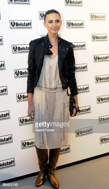 December 15 2008 Madrid Spain Opening of the store Belstaff In the picture granddaughter of Aline Griffith