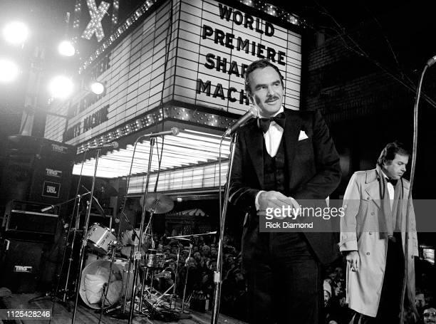 Actor/Director Burt Reynolds attends Sharky's Machine World Premiere starring Burt Reynolds at The Fabulous Fox Theater in Atlanta Ga December 011981