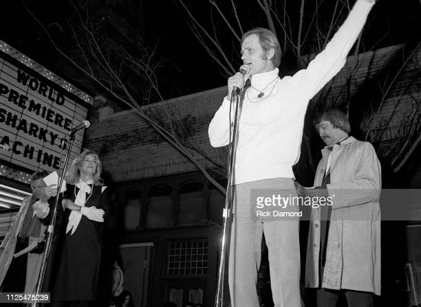 Cast Member Jerry Reed attends Sharky's Machine World Premiere starring Burt Reynolds at The Fabulous Fox Theater in Atlanta, Ga. December 01,1981