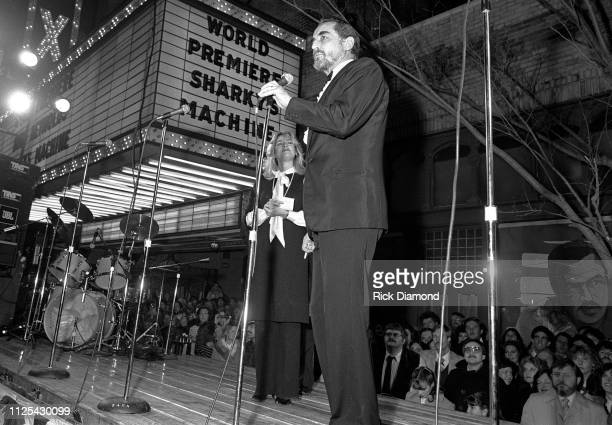 Cast Member Vittorio Gassman attends Sharky's Machine World Premiere starring Burt Reynolds at The Fabulous Fox Theater in Atlanta Ga December 011981