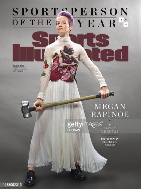 December 16 2019 December 23 2019 Sports Illustrated Cover Sportsperson of the Year Portrait of US Women's National Team and Reign FC forward Megan...