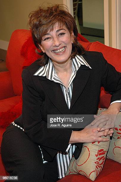 December 18 2006 Madrid Spain Presentation of the new serie by Telecinco 'La que se avecina' Portrait of Isabel Ordaz actress