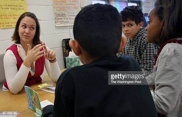 December 18 2008 CREDIT Susan Biddle Silver Spring MD Highland Elementary School has the highest number of disadvantaged students in Montgomery...