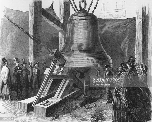A sounding experiment on the first bell for St Stephen's Clock Tower Westminster commonly known as Big Ben