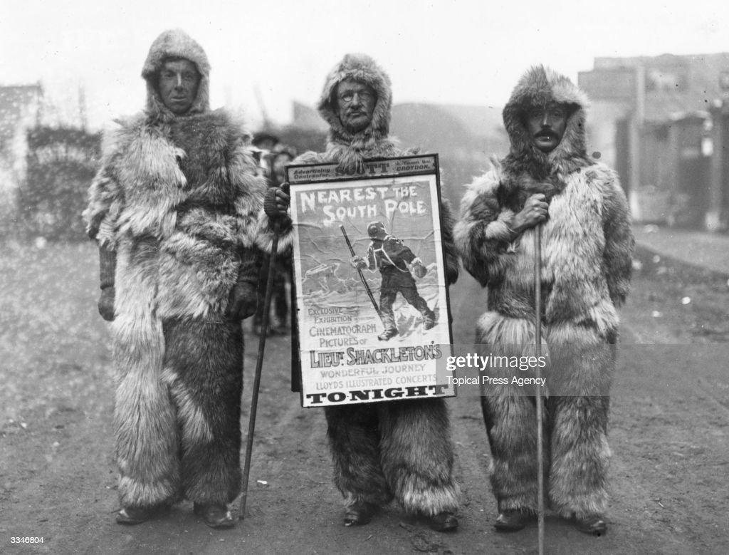 Shackleton's Show : News Photo