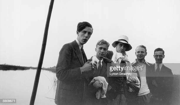 British art historian and Soviet spy Anthony Blunt at Cambridge where he was a fellow at Trinity College with Francis WarreCornish unknown George...