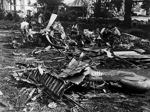 The horror of destruction at the US Naval Base of Pearl Harbor, which without warning was attacked by Japanese forces on 7th December 1941. The...