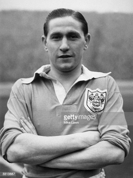 England and Blackpool footballer Stan Mortensen