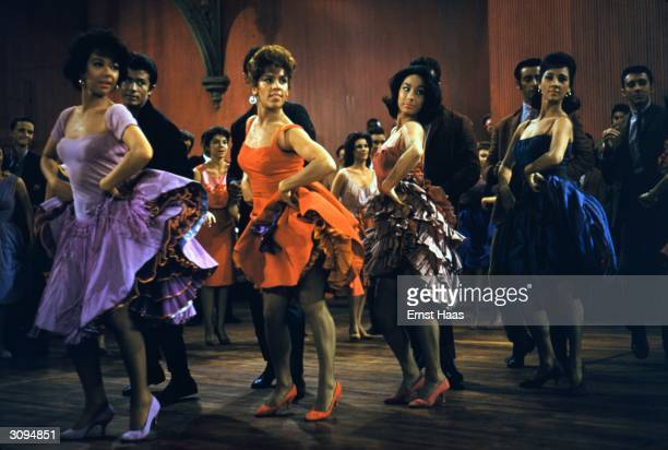 The school dance scene in the film 'West Side Story' Music by Leonard Bernstein choreography by Jerome Robbins