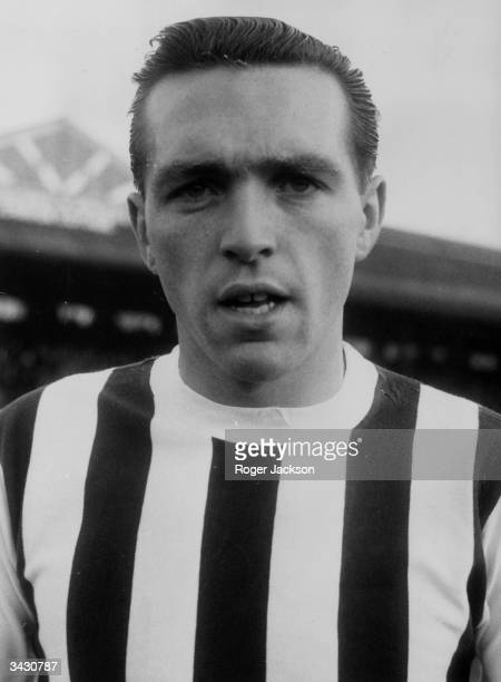 West Bromwich Albion and England footballer Jeff Astle