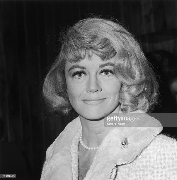 Headshot of American actor Dorothy Malone at a Hollywood event California