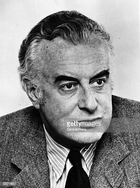 Australian prime minister and writer Gough Whitlam previously a barrister