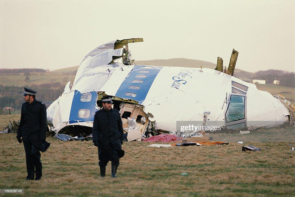 Lockerbie Bombing : News Photo