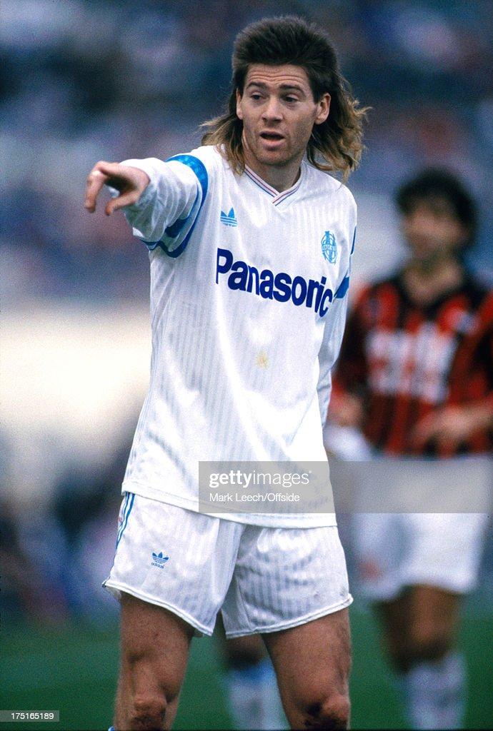 Marseille-Nice Football 1989 : News Photo