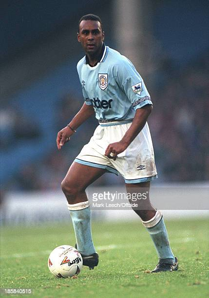 28 December 1993 Premier League football Manchester City v Southampton David Rocastle of City on the ball