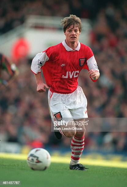 26 December 1994 FA Premier League Football Arsenal v Aston Villa Stefan Schwarz of Arsenal