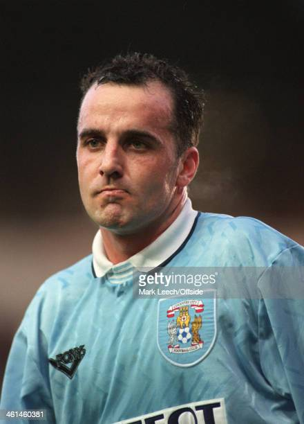 03 December 1994 FA Premier League Football Coventry City v Liverpool Paul Cook of Coventry City FC