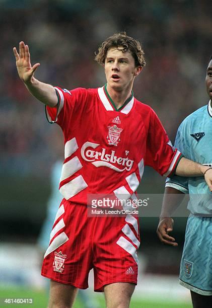 December 1994 FA Premier League Football - Coventry City v Liverpool, Steve McManaman of Liverpool FC.