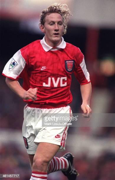 17 December 1994 FA Premiership Football Arsenal v Leeds United Ray Parlour of Arsenal
