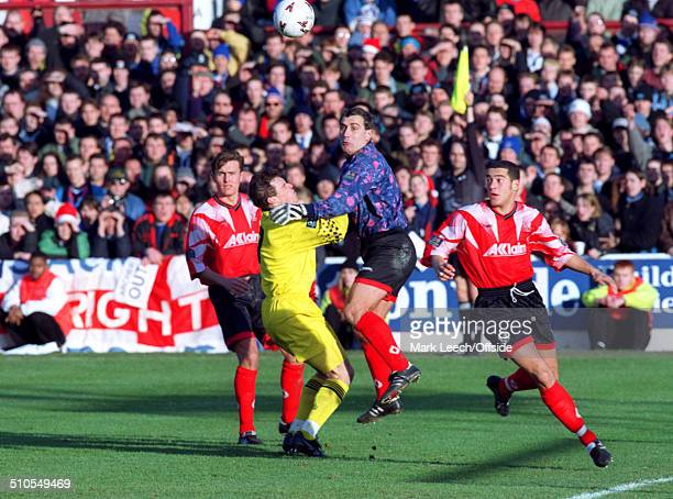 December 1996 - Football League Division Three - Leyton Orient v Brighton and Hove Albion - Peter Shilton of Orient makes his 1000th career...