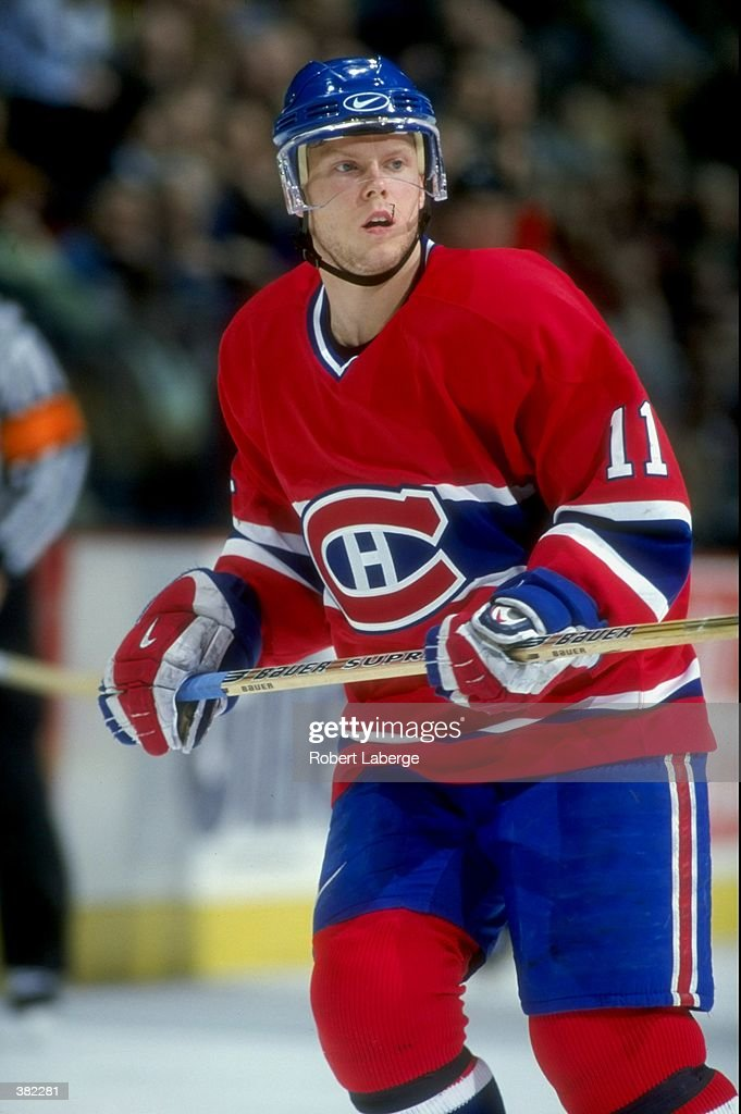 81d812580 Saku Koivu of the Montreal Canadiens in action against the Ottawa ...