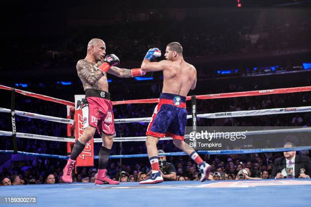 December 2: MANDATORY CREDIT Bill Tompkins/Getty Images Sadam Ali defeats Miguel Cotto by Unanimous Decision in their Junior Middleweight fight at...